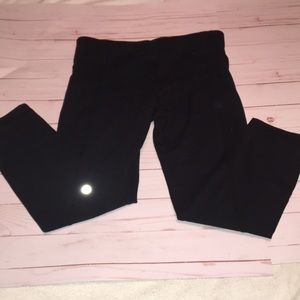 Lululemon ruched crops